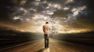 abstract-man-walking-fading-away-long-road-time-cloudy-sky-dark-1366x768