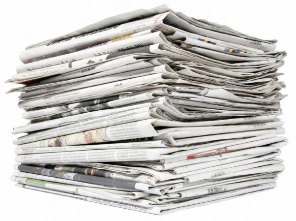 kranten-stapel
